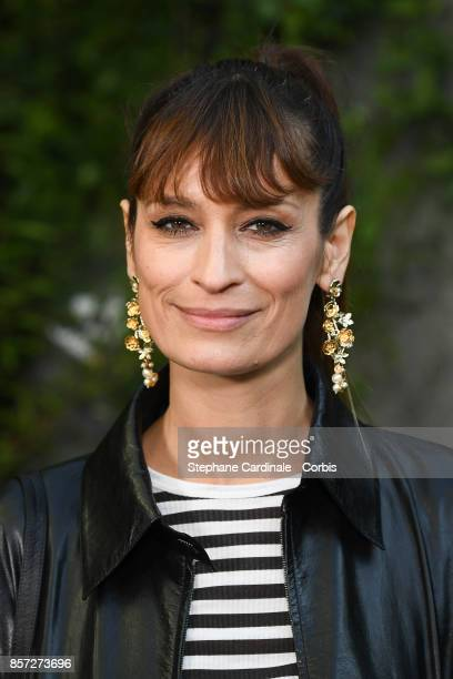 Caroline de Maigret attends the Chanel show as part of the Paris Fashion Week Womenswear Spring/Summer 2018 at on October 3 2017 in Paris France