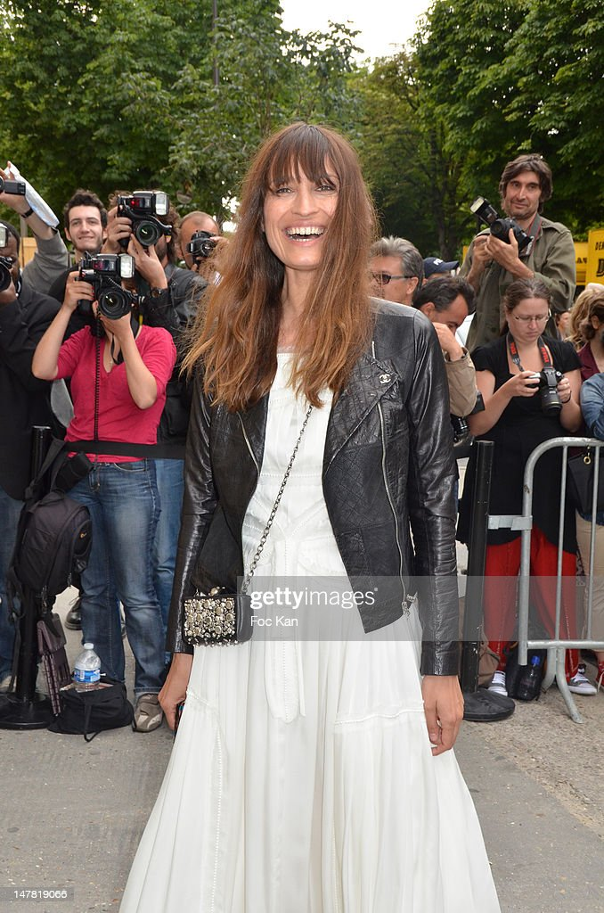 Caroline de Maigret attends the Chanel show during Paris Fashion Week Haute Couture F/W 2012/13 at Le Grand Palais on July 3, 2012 in Paris, France.