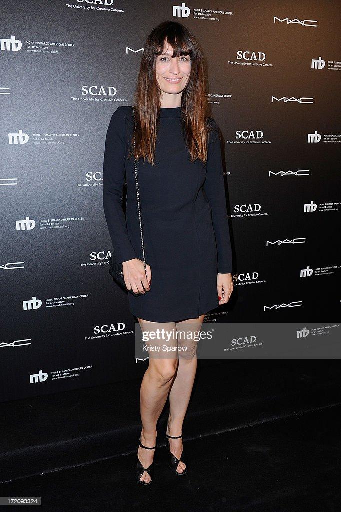 Caroline de Maigret attends the Little Black Dress exhibition as part of Paris Fashion Week Haute-Couture F/W 2013-2014 on July 1, 2013 in Paris, France.