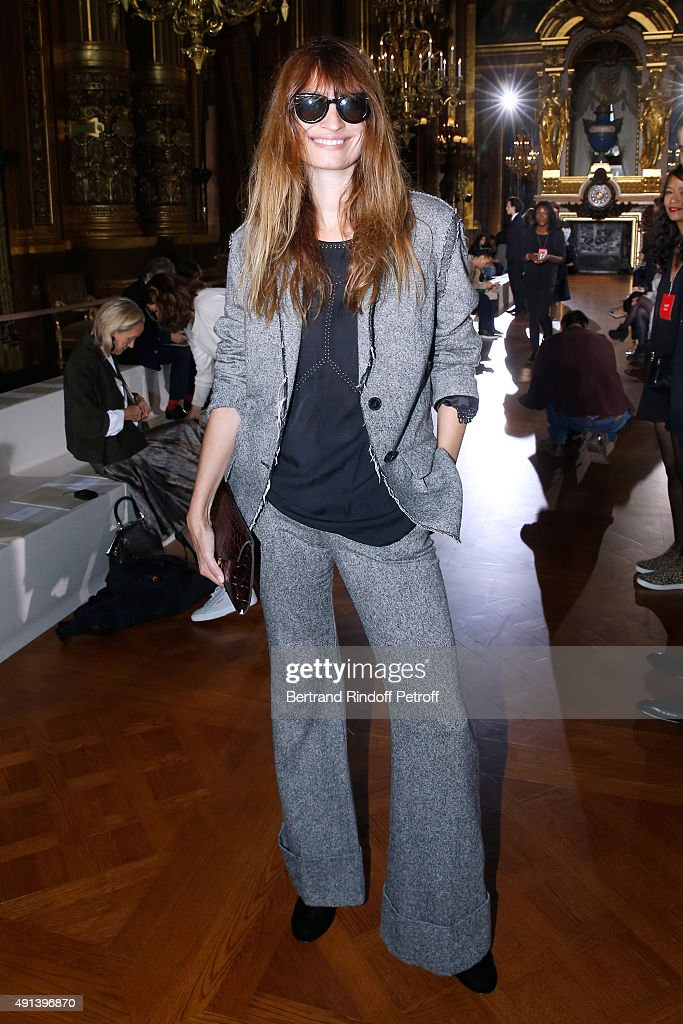 Stella McCartney : Front Row - Paris Fashion Week Womenswear Spring/Summer 2016