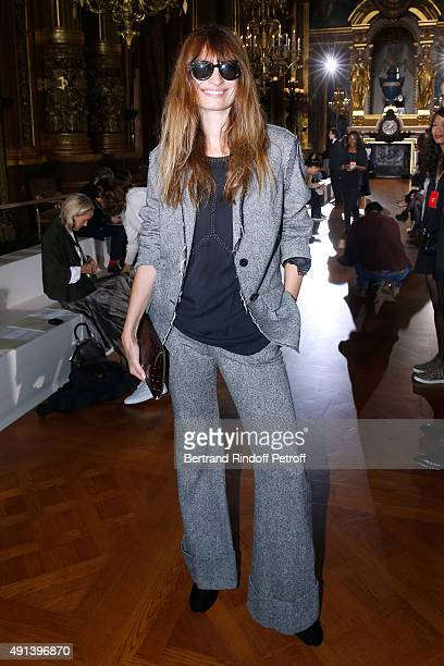 Caroline de Maigret attends the Stella McCartney show as part of the Paris Fashion Week Womenswear Spring/Summer 2016 Held at Opera Garnier on...