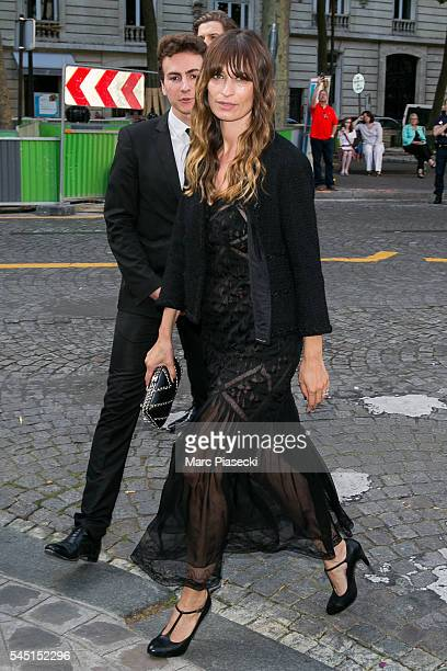 Caroline de Maigret attends the Vogue Foundation Gala 2016 at Palais Galliera on July 5 2016 in Paris France