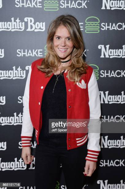 Caroline De Moraes during the launch of 'Shack Sounds' at Shake Shack Leicester Square on October 22 2017 in London England