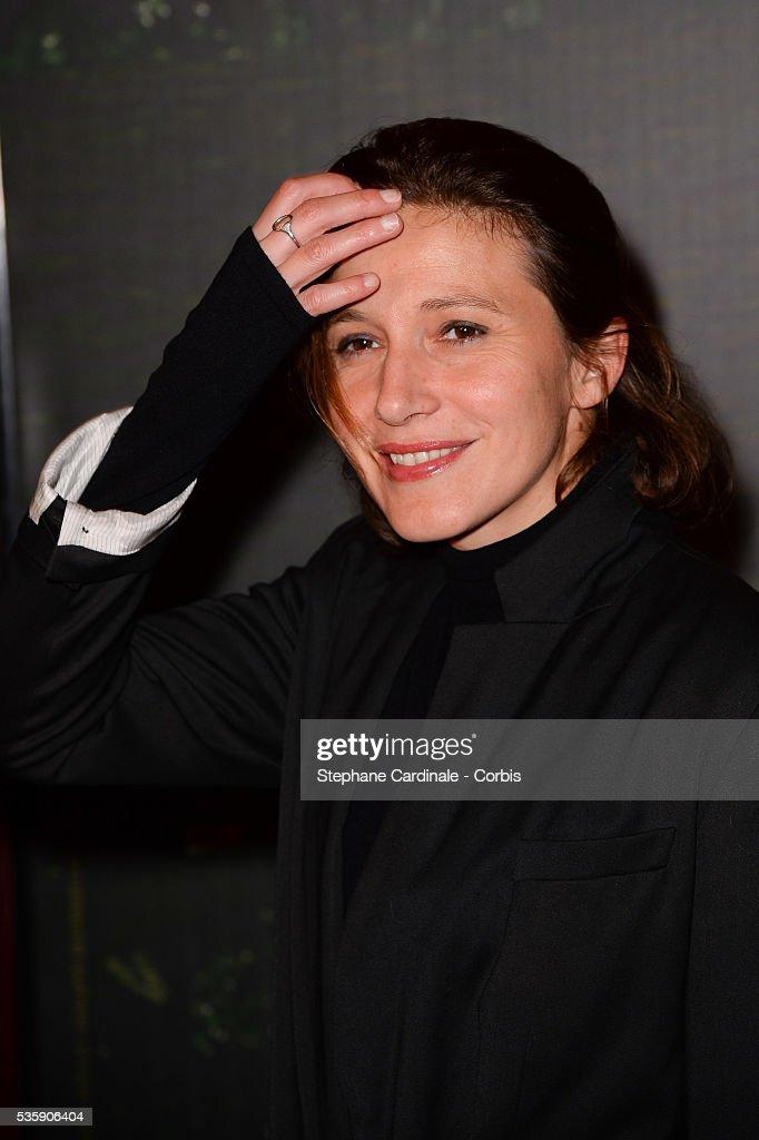 Caroline Ducey attends the 'Il etait une foret' Paris Premiere at Cinema Gaumont Marignan, in Paris.