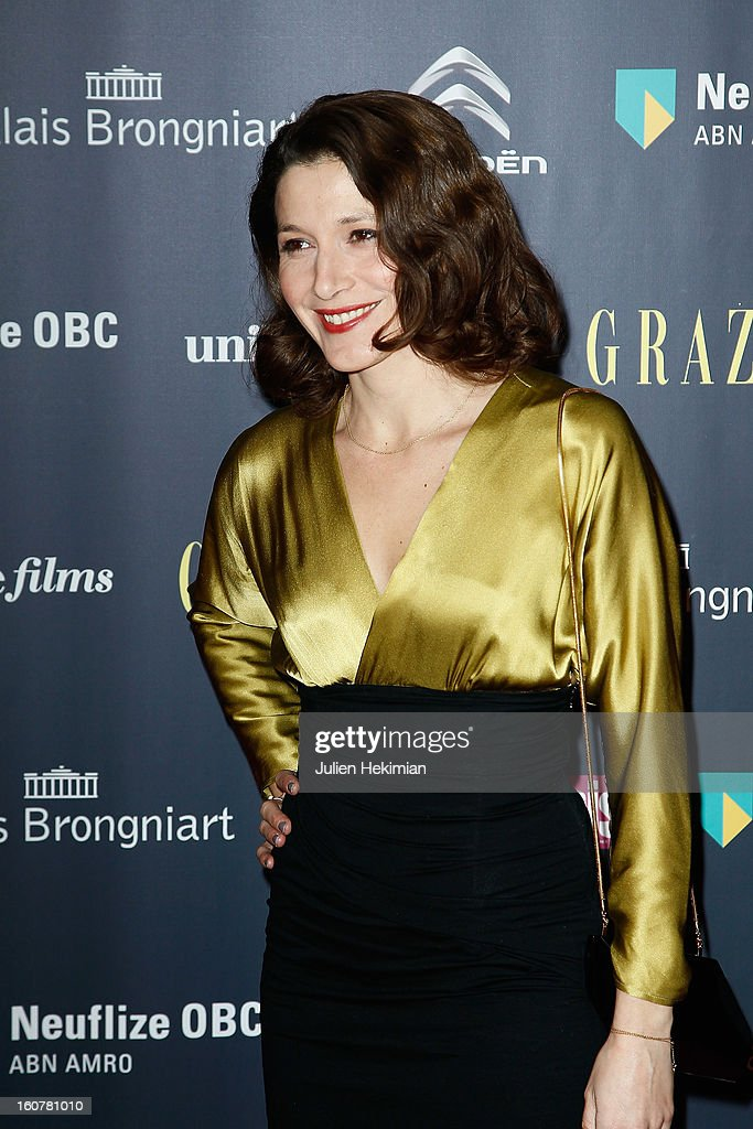 Caroline Ducey attends the 'Trophees Du Film Francais' 20th Ceremony at Palais Brongniart on February 5, 2013 in Paris, France.