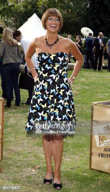 Caroline Feraday attending the African Oasis party sponsored by Amarula Cream in Bedford Square London