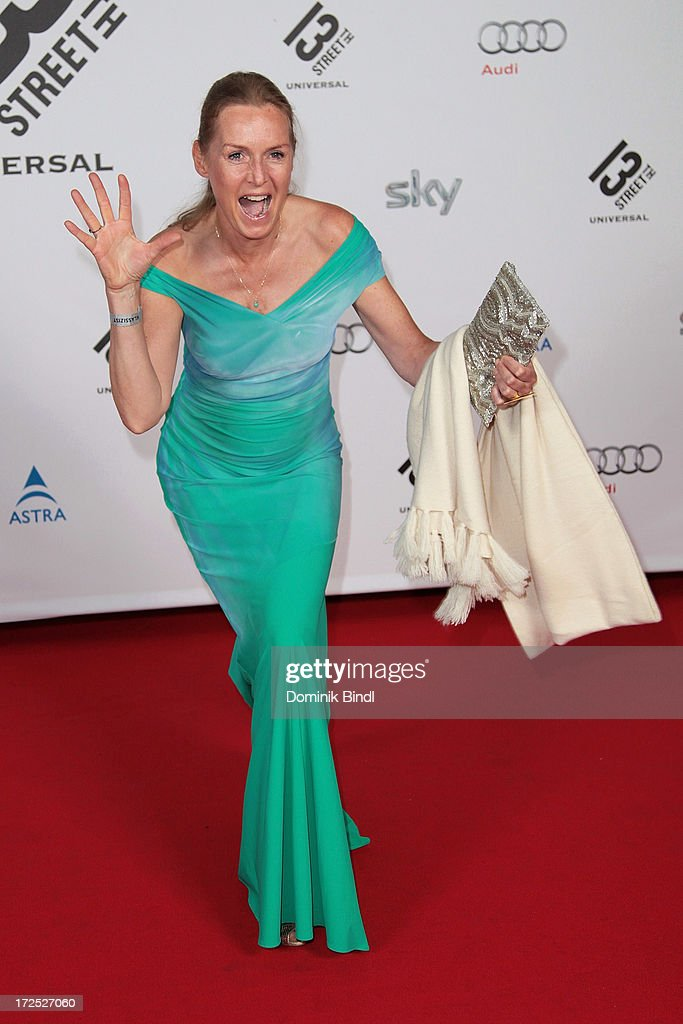 Caroline Fink attends the Shocking Shorts Award at Galerie der Kuenstler on July 2, 2013 in Munich, Germany.