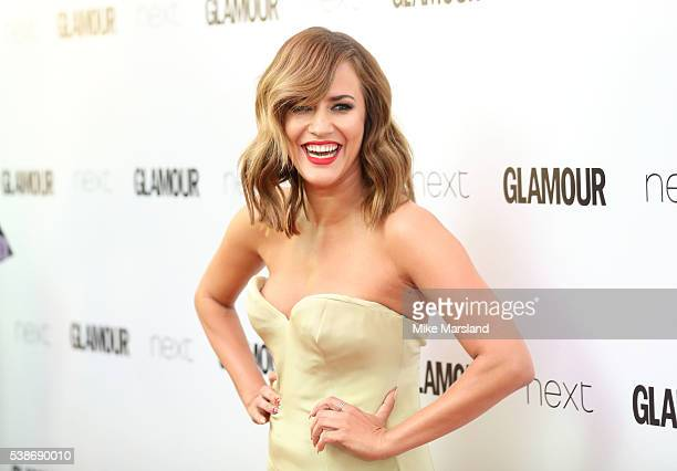 Caroline Flack arrives for the Glamour Women Of The Year Awards on June 7 2016 in London United Kingdom