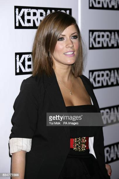 Caroline Flack arrives for the Kerrang Awards at the Brewery London
