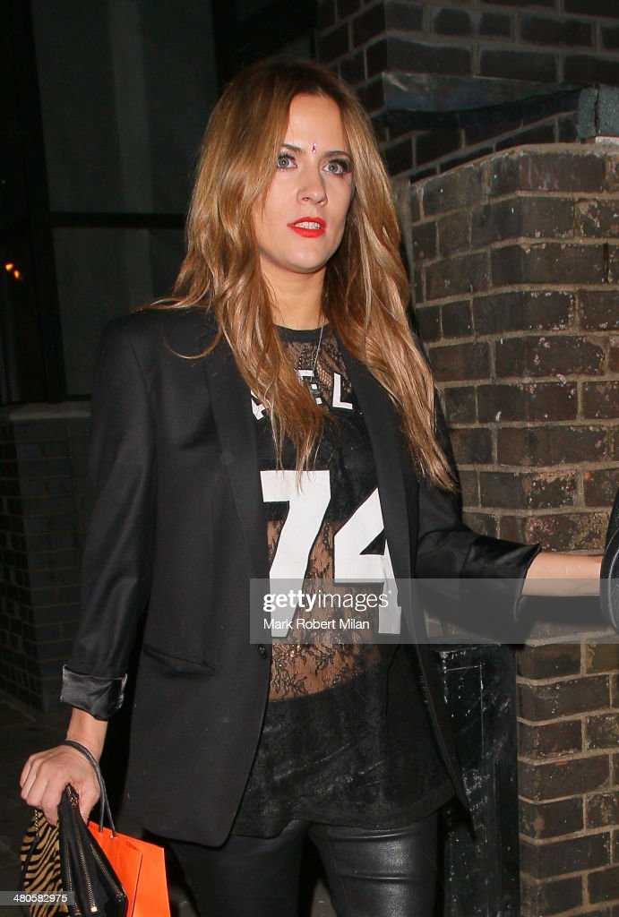<a gi-track='captionPersonalityLinkClicked' href=/galleries/search?phrase=Caroline+Flack&family=editorial&specificpeople=4344399 ng-click='$event.stopPropagation()'>Caroline Flack</a> at the Art hotel on March 25, 2014 in London, England.