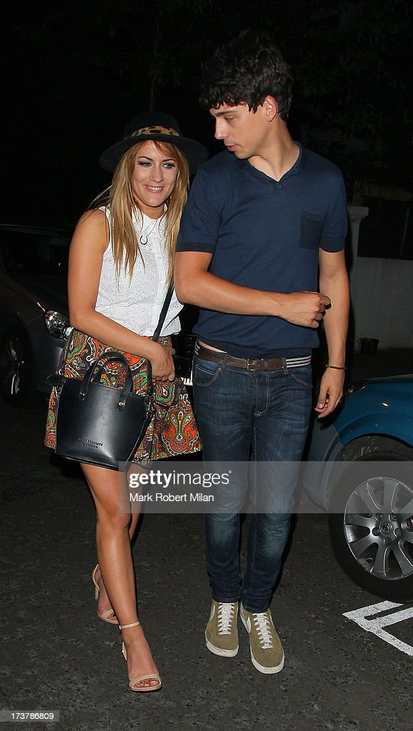 <a gi-track='captionPersonalityLinkClicked' href=/galleries/search?phrase=Caroline+Flack&family=editorial&specificpeople=4344399 ng-click='$event.stopPropagation()'>Caroline Flack</a> attending the ITV Summer Reception on July 17, 2013 in London, England.