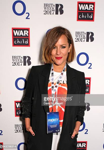 Caroline Flack attends the Biffy Clyro show for War Child BRITs Week together with O2 gig to support children affected by war at O2 Shepherd's Bush...