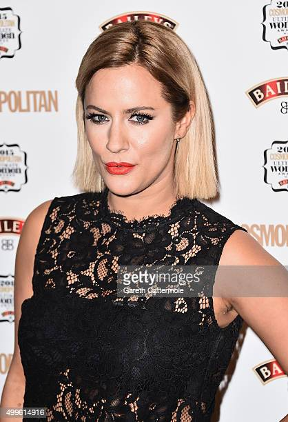 Caroline Flack attends the Cosmopolitan Ultimate Women Of The Year Awards at One Mayfair on December 2 2015 in London England