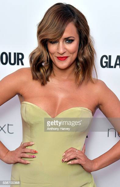 Caroline Flack attends the Glamour Women Of The Year Awards at Berkeley Square Gardens on June 7 2016 in London England