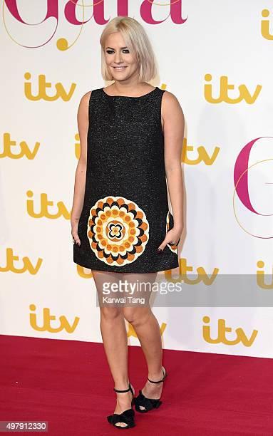 Caroline Flack attends the ITV Gala at London Palladium on November 19 2015 in London England