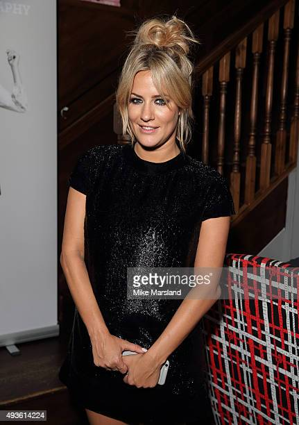 Caroline Flack attends the launch of Caroline Flack's new autobiography 'Storm In A C Cup' at Library on October 21 2015 in London England