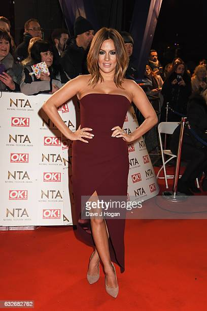 Caroline Flack attends the National Television Awards at Cineworld 02 Arena on January 25 2017 in London England
