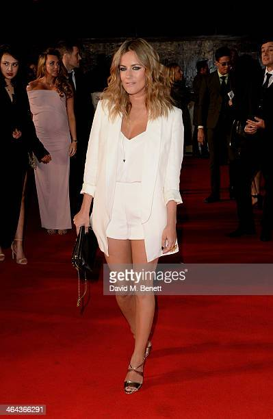 Caroline Flack attends the National Television Awards at the 02 Arena on January 22 2014 in London England