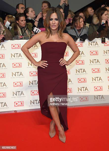 Caroline Flack attends the National Television Awards on January 25 2017 in London United Kingdom
