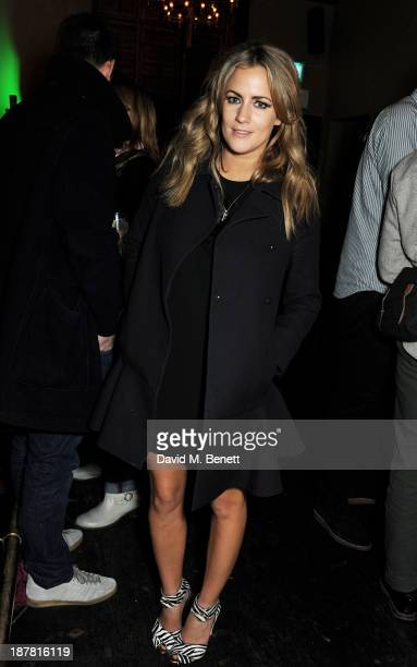 Caroline Flack attends #VauxhallPresents Made in England by Katy England screening hosted by Vauxhall Motors at The King's Head Private Members Club...