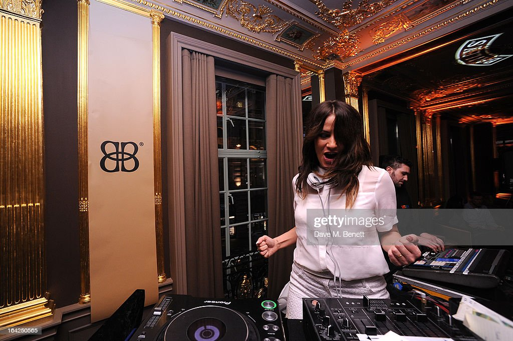 <a gi-track='captionPersonalityLinkClicked' href=/galleries/search?phrase=Caroline+Flack&family=editorial&specificpeople=4344399 ng-click='$event.stopPropagation()'>Caroline Flack</a> DJs at the Baileys Spirited Women party at Cafe Royal on March 21, 2013 in London, England.