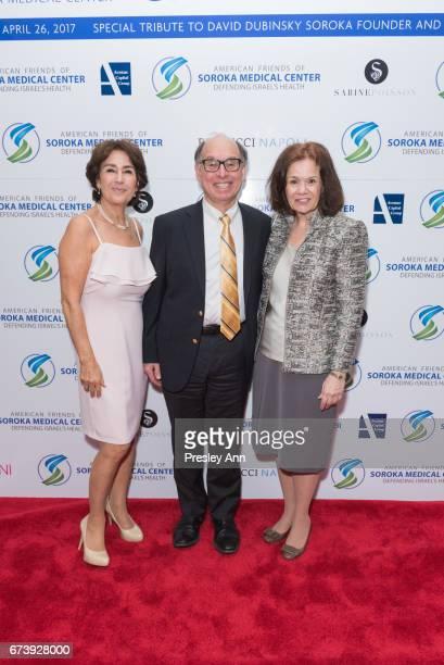 Caroline Freidfertig David Goldberg and Gale Lidmen attend American Friends of Soroka Medical Center Annual Gala at The Pierre Hotel on April 26 2017...