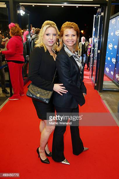 Caroline Frier and Annette Frier attend the 19th Annual German Comedy Awards at Coloneum on October 20 2015 in Cologne Germany