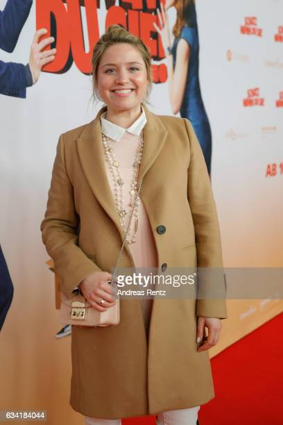 Caroline Frier attend 'Schatz Nimm Du sie' German movie premiere at Cineplex Cologne on February 7 2017 in Cologne Germany