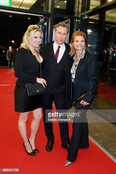 Caroline Frier Dirk Borchardt and Annette Frier attend the 19th Annual German Comedy Awards at Coloneum on October 20 2015 in Cologne Germany