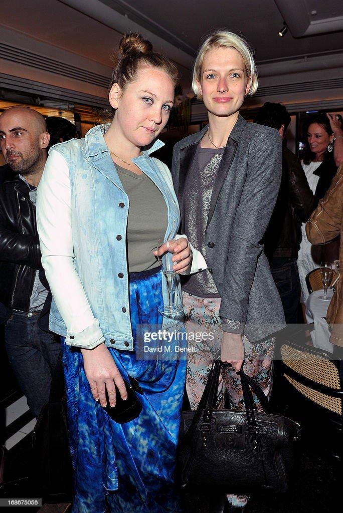 Caroline Gaimari and Janina Joffe attend Joe's x Purple Magazine dinner at Le Caprice on May 13, 2013 in London, United Kingdom.