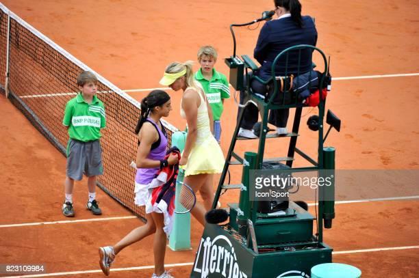 Caroline GARCIA / Maria SHARAPOVA Roland Garros 2011 Paris