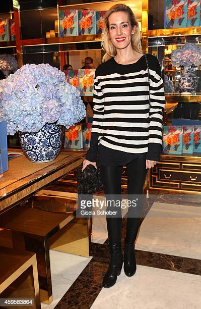 Caroline Goddet during the 'Tory Burch In Color' Book Launch on November 25 2014 in Munich Germany