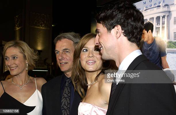 Caroline Goodall Mark Harmon Mandy Moore and Matthew Goode