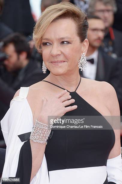 Caroline Gruosi Scheufele attends the Opening Ceremony and the 'Grace of Monaco' premiere during the 67th Annual Cannes Film Festival on May 14 2014...