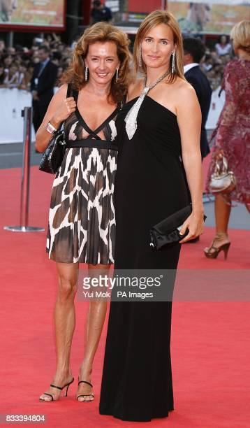 Caroline GruosiScheufele and Judith Godreche arrive for the premiere of 'Cassandra's Dream' during the Venice Film Festival in Italy