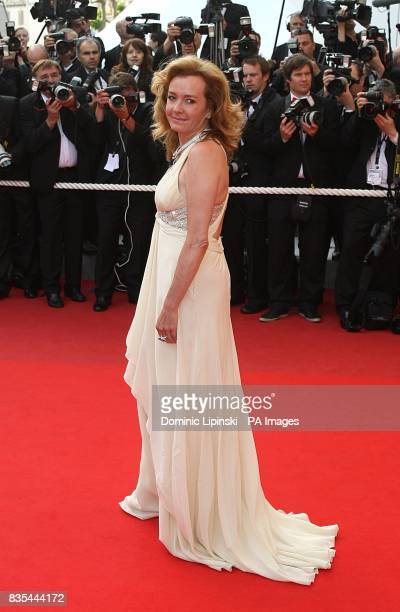 Caroline GruosiScheufele arriving at the Up premiere at the Palais de Festival during the 62nd Cannes Film Festival France