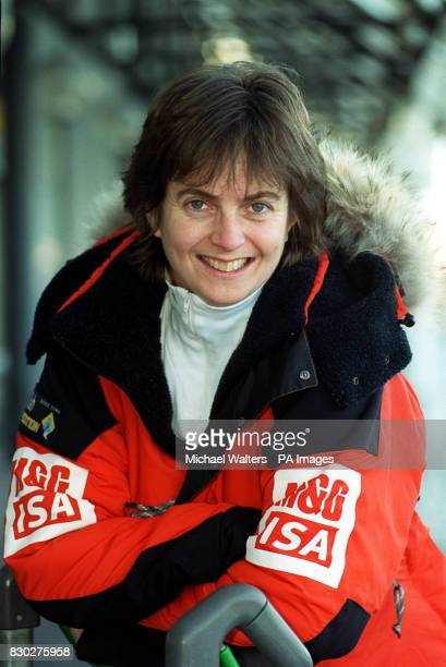 Caroline Hamilton from London one of five women at Gatwick Airport before they set off to the South Pole to make history by becoming the first...