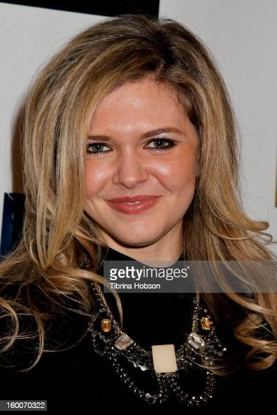 Caroline Heinle attends the 'Not Another Celebrity Movie' Los Angeles premiere at Pacific Design Center on January 17 2013 in West Hollywood...