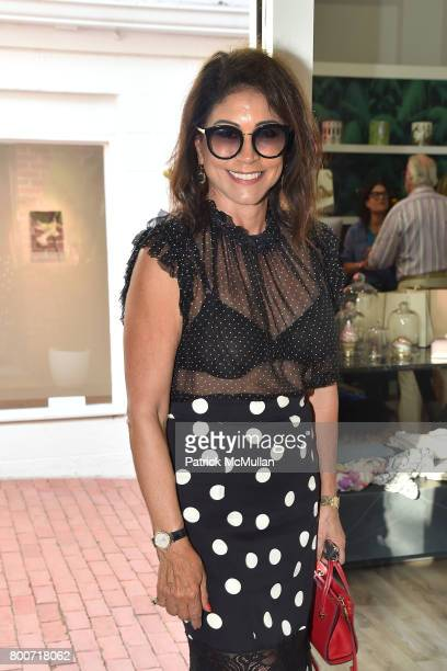 Caroline Hirsch attends Lisa Jackson hosts LJ Cross Rose Shopping Event at Copious Row on June 24 2017 in Southampton New York