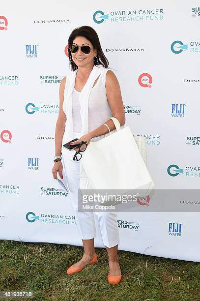 Caroline Hirsch attends OCRF's 18th Annual Super Saturday NY Hosted by Donna Karan and Kelly Ripa on July 25 2015 in Water Mill City