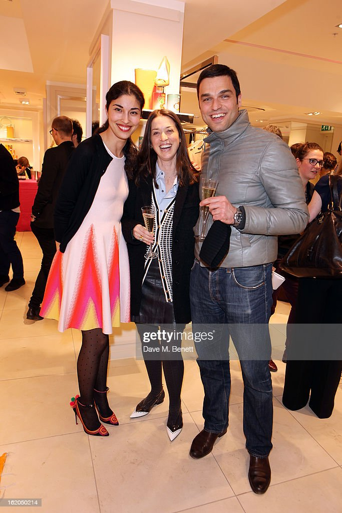 <a gi-track='captionPersonalityLinkClicked' href=/galleries/search?phrase=Caroline+Issa&family=editorial&specificpeople=2254046 ng-click='$event.stopPropagation()'>Caroline Issa</a> (L) and guests attends as L.K. Bennett London and <a gi-track='captionPersonalityLinkClicked' href=/galleries/search?phrase=Caroline+Issa&family=editorial&specificpeople=2254046 ng-click='$event.stopPropagation()'>Caroline Issa</a> launch their exclusive collection of shoes and handbags for Spring Summer 2013 at L.K. Bennett on February 18, 2013 in London, England.
