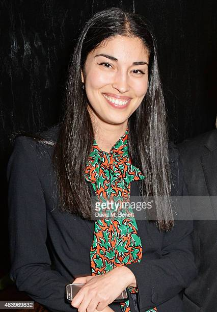Caroline Issa attends a dinner hosted by Caroline Issa to celebrate the launch of new book 'The Age Of Earthquakes' by Douglas Coupland Hans Ulrich...