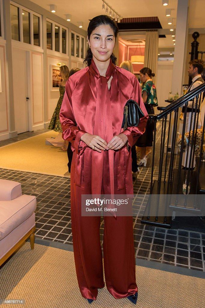 Poppy Delevingne Hosts Delpozo Dinner At Moda Operandi