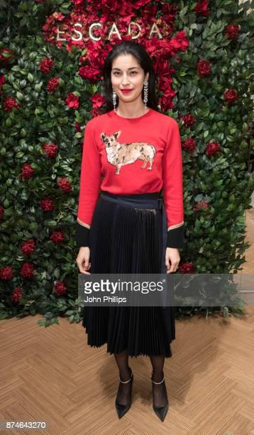 Caroline Issa attends New Flagship Store Opening of Luxury Fashion Brand ESCADA on Sloane Street on November 15 2017 in London England