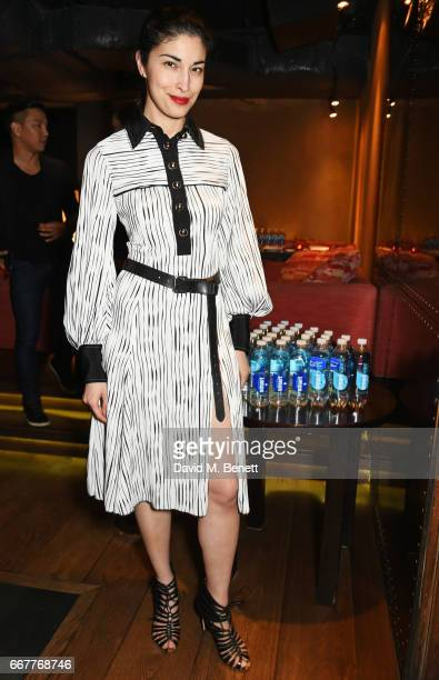 Caroline Issa attends Prabal Gurung and Caroline Issa's dinner at Shochu Lounge at ROKA to celebrate the arrival of Spring 2017 at Selfridges with...