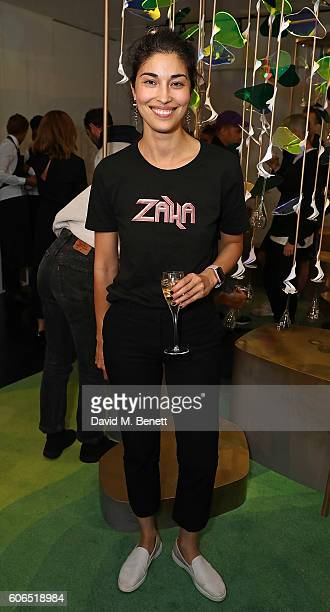 Caroline Issa attends Tank Magazine's LFW party hosted by editorinchief Caroline Issa during London Fashion Week Spring/Summer collections 2017 at...