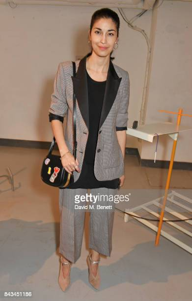 Caroline Issa attends The 2017 Tiffany Co and Outset Studiomakers Prize at The Vinyl Factory on September 6 2017 in London England