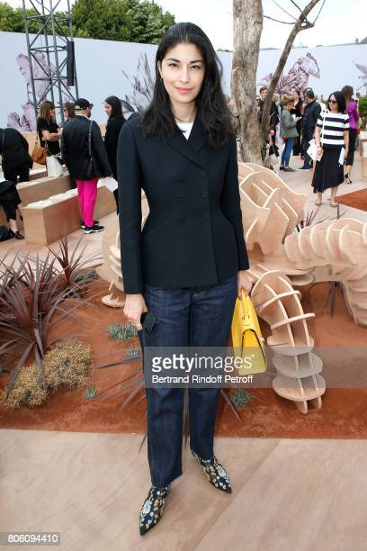 Caroline Issa attends the Christian Dior Haute Couture Fall/Winter 20172018 show as part of Haute Couture Paris Fashion Week on July 3 2017 in Paris...