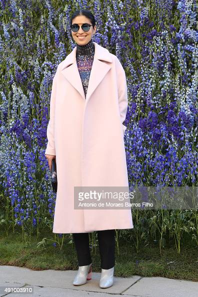 Caroline Issa attends the Christian Dior show as part of the Paris Fashion Week Womenswear Spring/Summer 2016 on October 2 2015 in Paris France