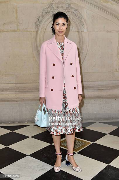 Caroline Issa attends the Christian Dior show of the Paris Fashion Week Womenswear Spring/Summer 2017 on September 30 2016 in Paris France